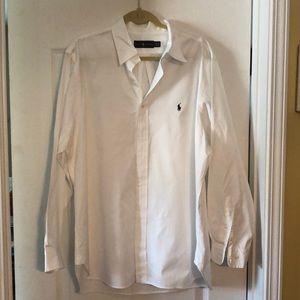 Ralph Lauren Long Sleeves Size 17 1/2 Worn Once